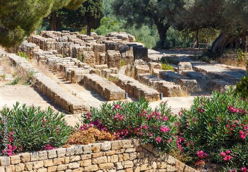 Spoed Foto op Canvas Mediterraans Europa Valley of Temples, Agrigento, Sicily, Italy