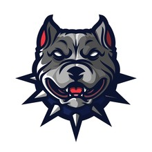 Dog Pitbull Esport Gaming Masc...