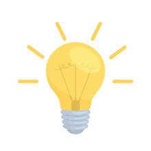 Electric Lamp Illustration
