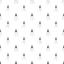 Wheat Pattern Vector Seamless