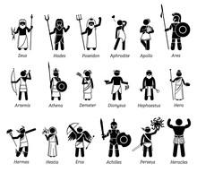 Ancient Greek Mythology Gods A...