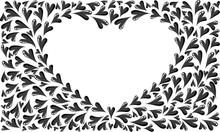 Heart Shape Border