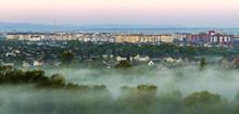 Beautiful Panorama Of Morning ...