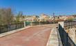 Historic brigde leading to the city of Zamora, Spain