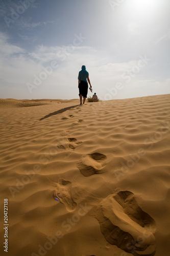 Fotografering  deserto tunisino
