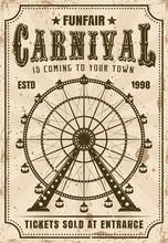 Carnival Ferris Wheel Vector I...