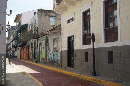 Foto op Plexiglas New York TAXI Panama streets