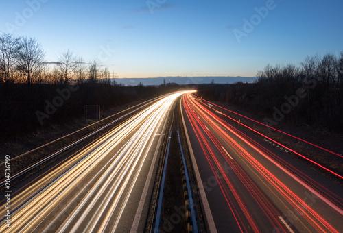 In de dag Nacht snelweg Nightshift