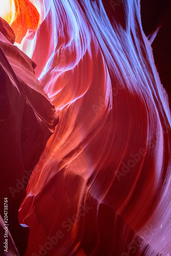 Staande foto Centraal-Amerika Landen Antelope canyon