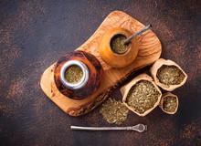 Yerba Mate Tea With Calabash A...