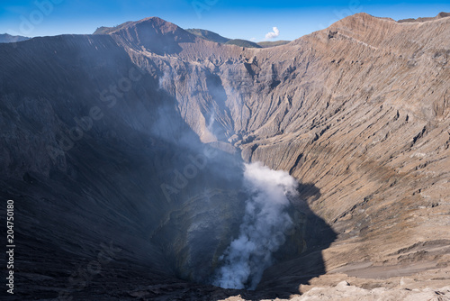 Plakat Crater of Bromo volcano in Bromo Tengger Semeru National Park, Java, Indonesia