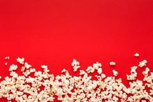 Slaty Popcorn Scattered On Red...