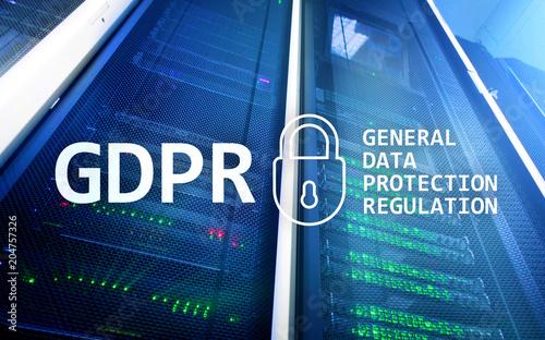 Fotografie, Obraz  GDPR, General data protection regulation compliance