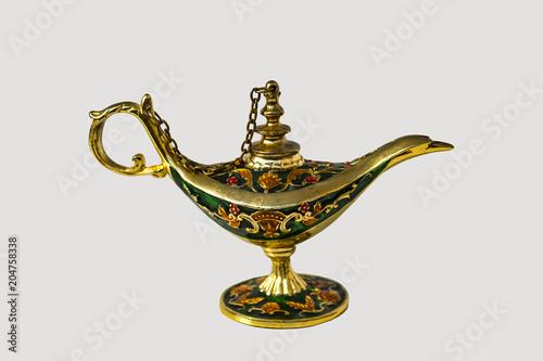 Fotografie, Obraz  antique teapot on isolated white background