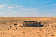 Old Well In Semi-desert