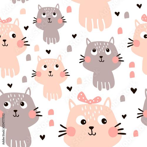 plakat cat pattern