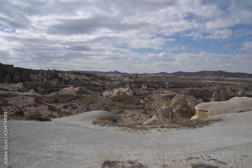 Foto op Canvas Bleke violet Cappadocia, 2018
