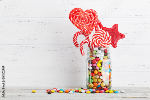 Poster Vissen Chocolate sweets