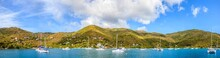 Harbor In British Virgin Islands