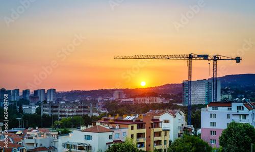 Papiers peints Pays d Afrique Varna skyline