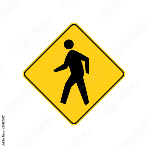 USA traffic road signs Fototapet