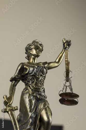 Photo  Scales of Justice , Human Rights Act  Symbol