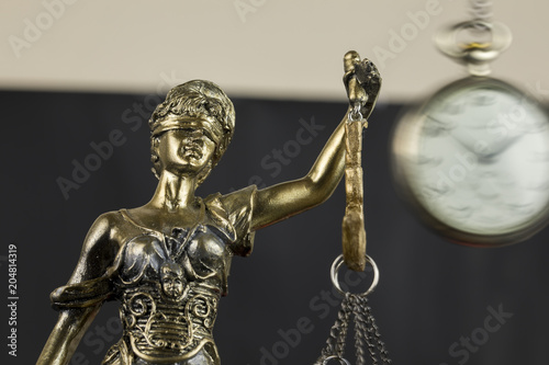 Photo  Justice and Time