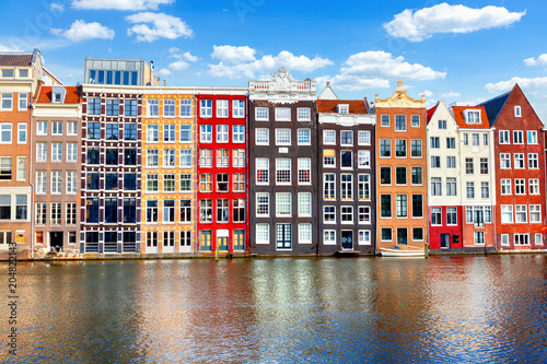 Photo  Houses in Amsterdam