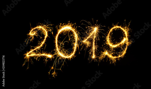 Fotografia  Happy New Year 2019