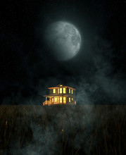 Halloween Of A Haunted House,3...