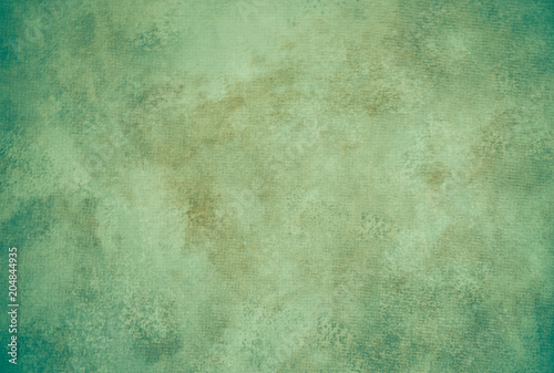 Green painterly background texture