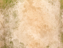 Texture Of Sand And Grass