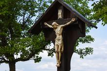Jesus Crucifix On Wayside