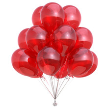 Colorful Red Balloon Bunch Shi...