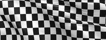 Checkered Flag, Race Flag Back...