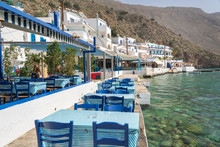 Restaurant Tables By The Sea I...