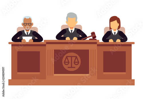 Cuadros en Lienzo Federal supreme court with judges
