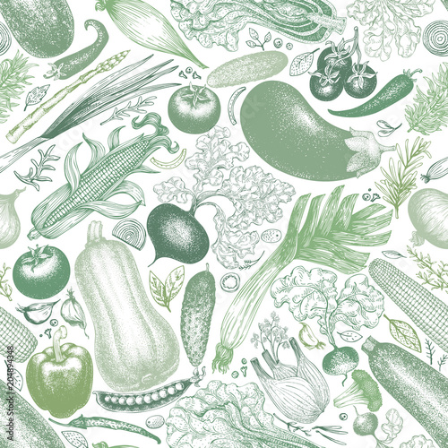 vegetables-vector-seamless-pattern-retro-engraved-style-background-hand-drawn-illustration-can-be-use-for-menu-packaging-farm-market-products