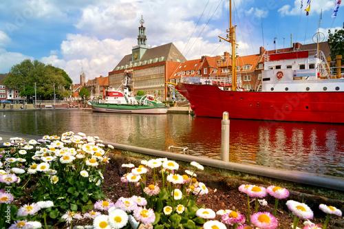 Fotomural Emden im wunderschönen Ostfriesland