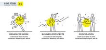 Set Of Illustrations Concept W...
