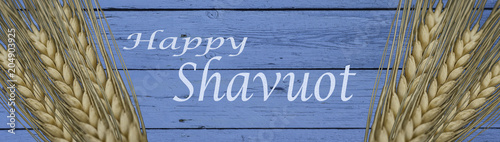 Background for Shavuot celebration
