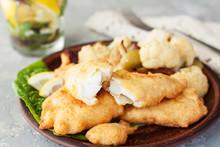 Battered Fish With Cauliflower