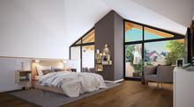 Sleeping Area In German Loft A...