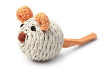 Toy Mouse For Cat Isolated