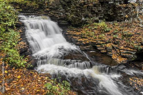 Valokuvatapetti Upper Mohican Falls - Ricketts Glen, Pennsylvania