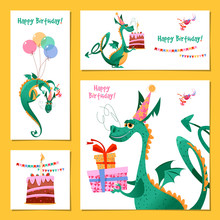Set Of 4 Universal Cards With ...