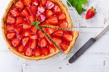 Delicious Homemade Strawberry Tart