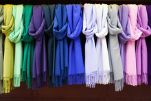 Colorful Hanging Display Of Wo...