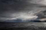 Storms over Lake Te Anau, New Zealand