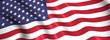 US flag waving symbol of usa